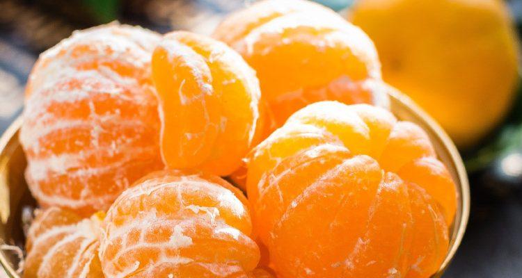Mandarinen sind gesund